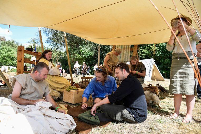 Voor het eerst was er een Gallisch dorp ingericht.