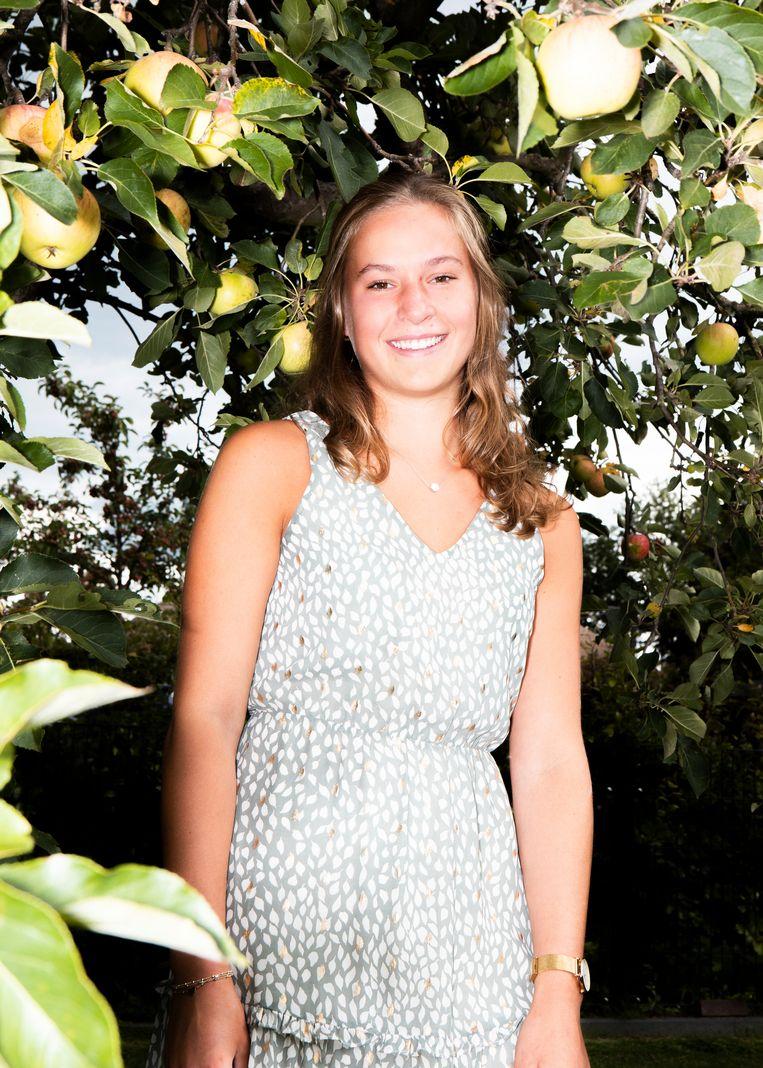 Jannieke Eenkhoorn (18) Beeld Hilde Harshagen