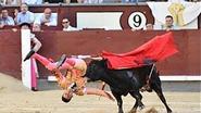Stier takelt opnieuw matador zwaar toe