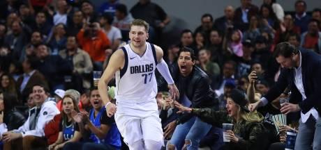 Doncic blijft imponeren bij de Dallas Mavericks