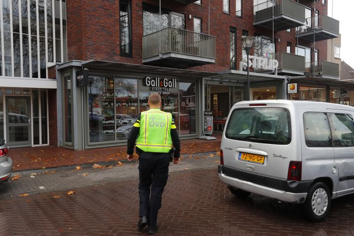 Overval op Gall & Gall in Eindhoven