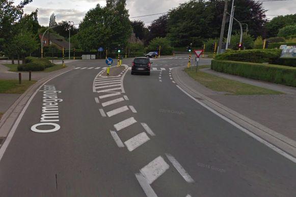 Onder meer in de Ommeganglaan komt er een linksafstrook en een van het verkeer gescheiden fietspad.