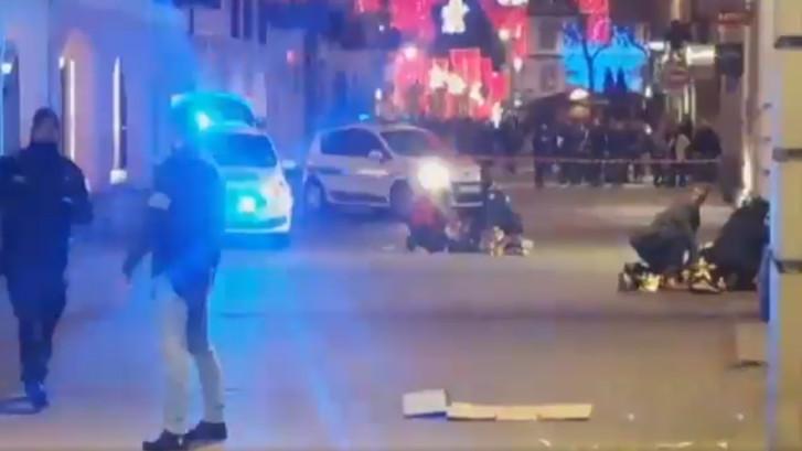 Terreuraanslag in Straatsburg: vier doden en elf gewonden, 'schutter is ingesloten'
