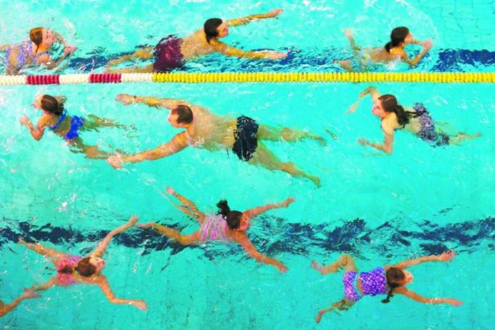 Zwemles.