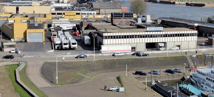 Het complex van Hilckmann in Nijmegen.