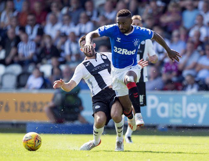 Jermain Defoe is tegenwoordig een van de sterren van Rangers FC.