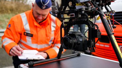 Politie zet vanaf morgen drone in om coronamaatregelen af te dwingen