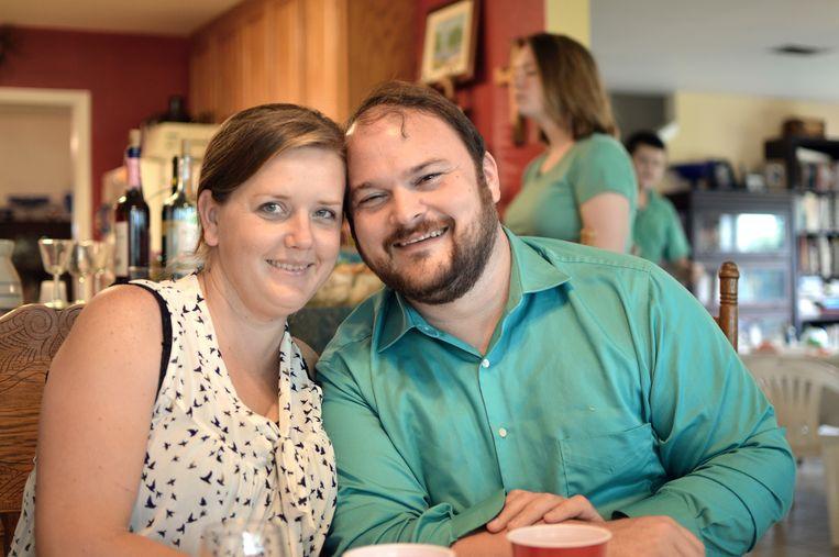 John Holcombe neemt vandaag afscheid van zijn zwangere vrouw Crystal.