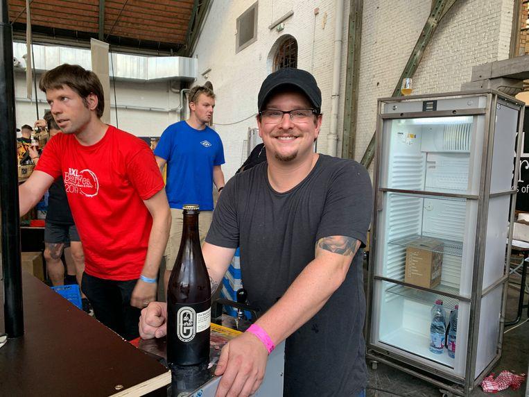 De VS zijn vertegenwoordigd met Jordan Samper van de Garde Brewing.