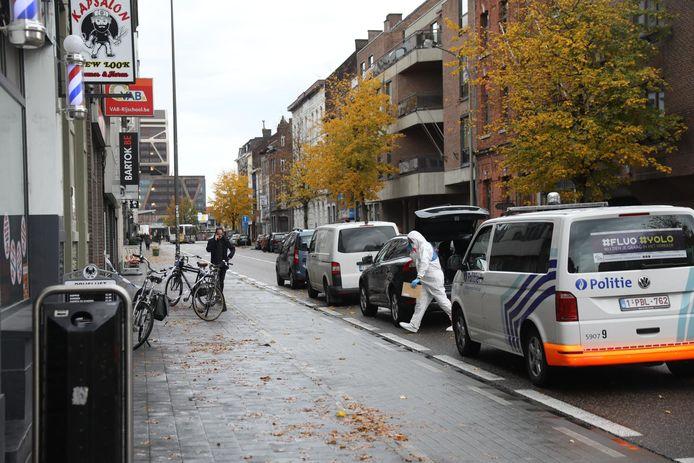 Afgelopen nacht vond een vechtpartij plaats in een appartementsgebouw op de Bampslaan in Hasselt.