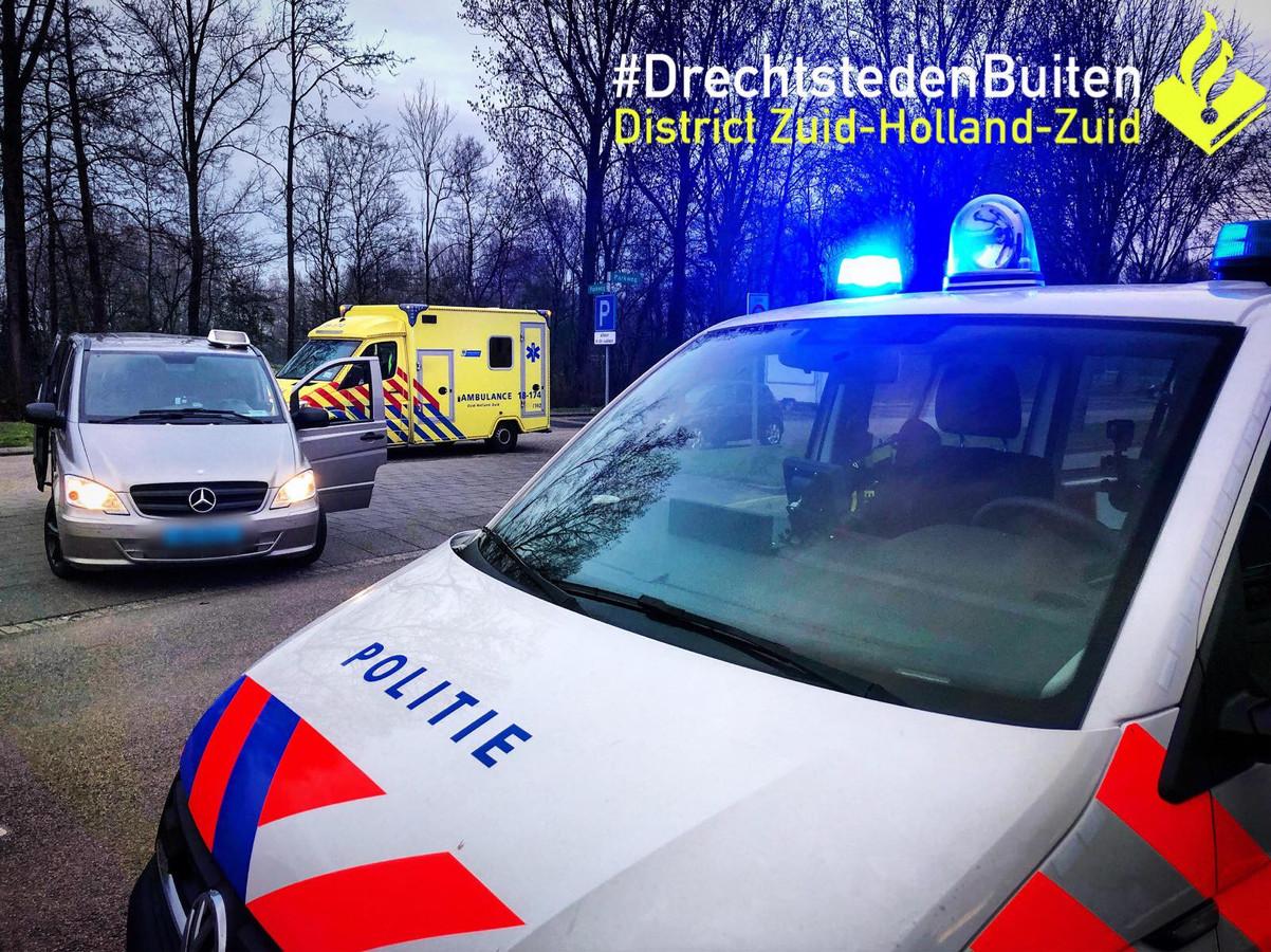 Taxichauffeur mishandeld in Papendrecht.