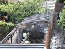 Schuur in Kaatsheuvel uitgebrand, buurtbewoner aangehouden
