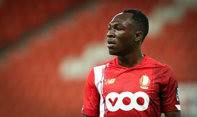 Monté au jeu en milieu de deuxième mi-temps, Jackson Muleka a disputé ses premières minutes avec le Standard.