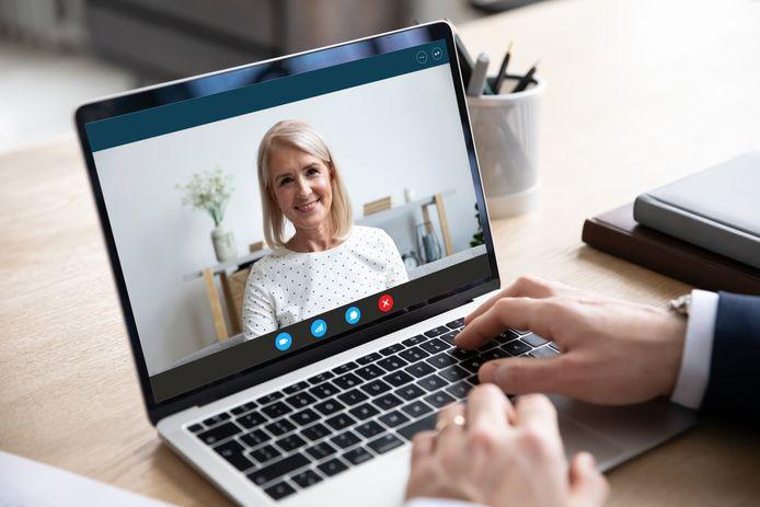 videobellen sollicitatie of vergadering thuiswerken