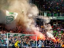 KNVB straft Groningen na afsteken vuurwerk: Vak leeg en 15.000 euro boete