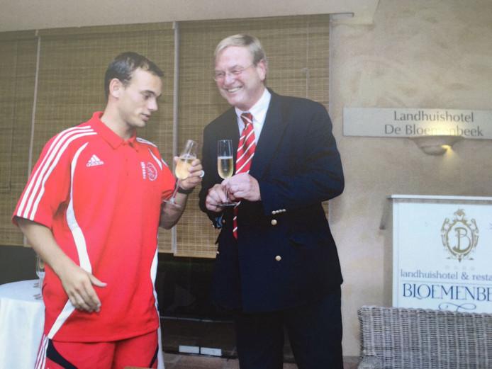 Champagne: Sneijder blijft! Of toch niet...