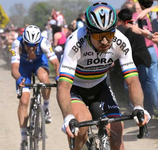 Peter Sagan staat aan de start