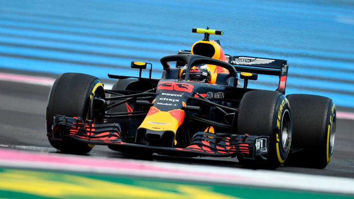 Bekijk hier hoe Verstappen zijn derde podiumplaats van het jaar pakt