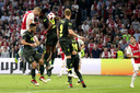 Ajax in duel met Standard Luik.