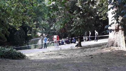 Levenloze vrouw gevonden in vijver van Citadelpark Gent