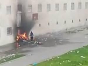 Émeute à la prison de Jamioulx: un détenu a filmé la scène