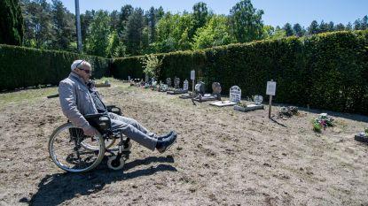 """Inwoners Eisden niet te spreken over kerkhof Tuinwijk: """"Met een rolstoel rij je je vast"""""""