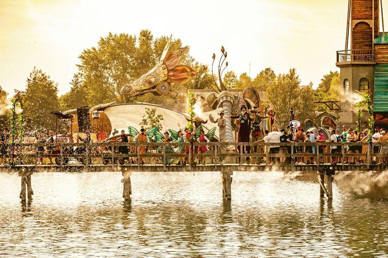 Tomorrowland in het Belgische Boom in 2019. Beeld Tomorrowland