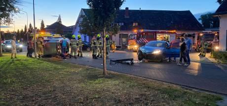 Twee gewonden bij aanrijding op Rijksweg in Duiven