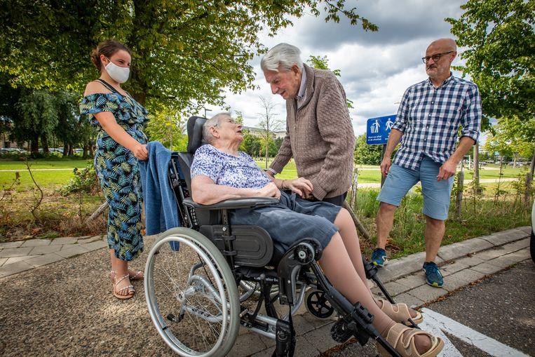 Wim en Mariette, al 62 jaar getrouwd, hebben elkaar 3 maanden moeten missen.