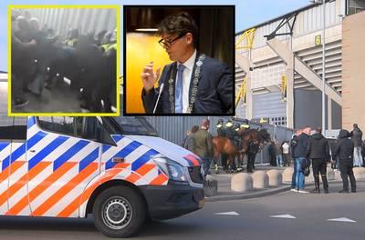 NAC-hooligans en Depla botsen frontaal: 'Rellen hadden voorkomen kunnen worden'