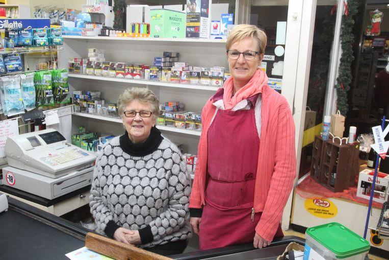 Jeaninne Melkebeke en Chris De Bolle zijn intussen 60 en 37 jaar te vinden in de Prima aan de kerk van Aaigem.