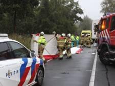 Automobilist overlijdt bij ongeval met auto en vrachtwagen bij Veghel