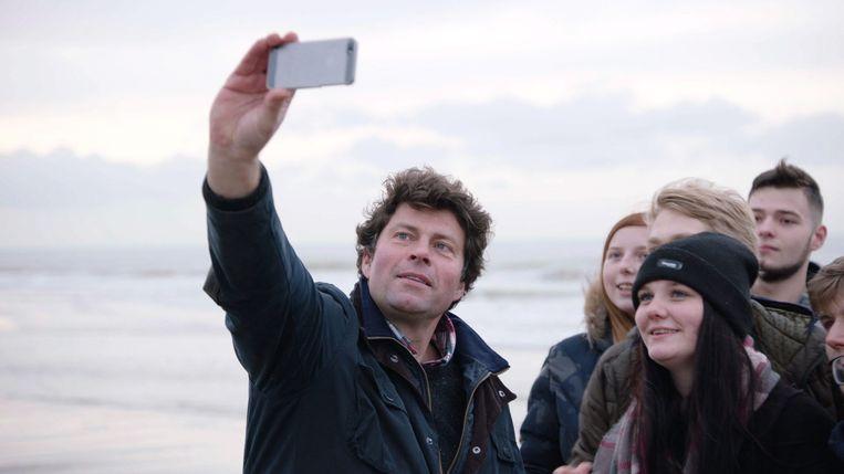 """Als je in Oostende lesgeeft over de klimaatopwarming, dan trek je toch gewoon naar zee? """"Hier zullen ze het snel voelen als de zeespiegel stijgt."""""""