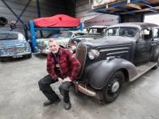 Frans heeft zelfs de originele papieren nog van deze 77 jaar oude Chevrolet
