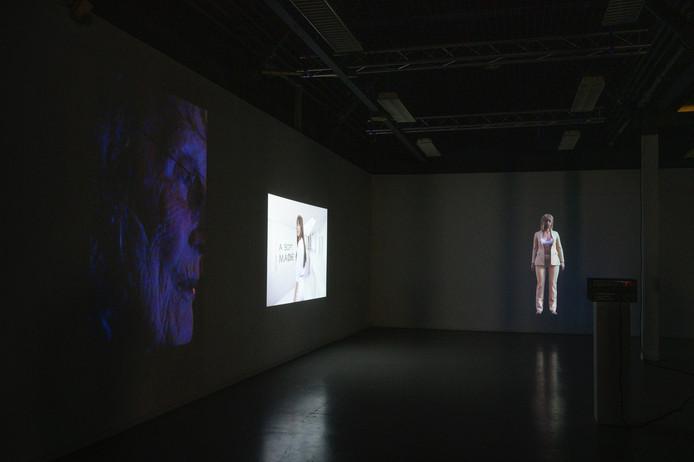 Werk van Bas Wilders en Swaeny Nina in het TAC in Eindhoven.