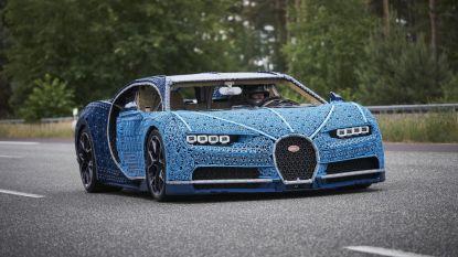 Gemaakt van Lego-steentjes: Bugatti op ware grootte die echt kan rijden