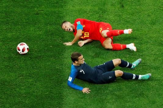 Eden Hazard en Antoine Griezmann.