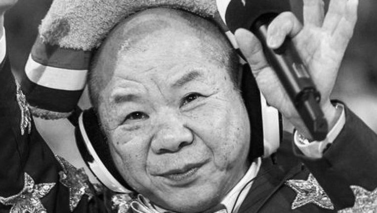 Meneer Chung zingt Hollandse smartlappen in Ik Hou Van Holland Beeld RTL
