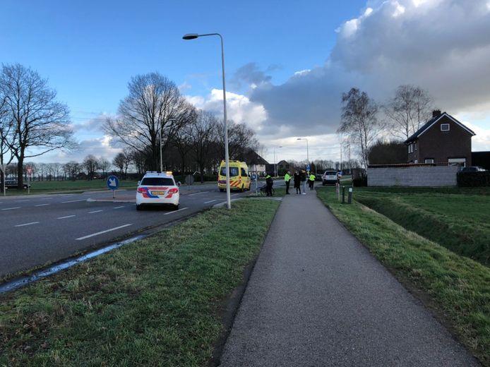 Ongeval fietser auto Dinxperloseweg Silvolde