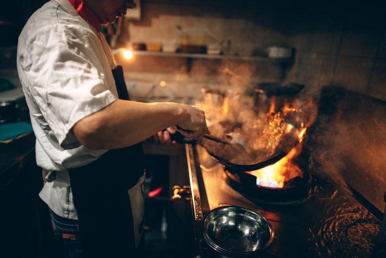 Inspecteurs hebben in het Brusselse restaurant Thai Wok bijna 500 kilogram voedsel aangetroffen dat niet conform was aan de hygiënenormen (Illustratiebeeld).