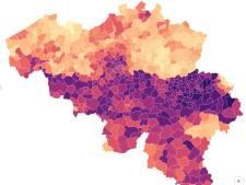 Un test Covid sur quatre positif à Liège, et dans votre commune?