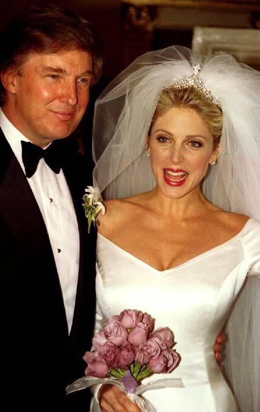 Donald Trump en Marla Maples waren getrouwd tussen 1993 en 1999.