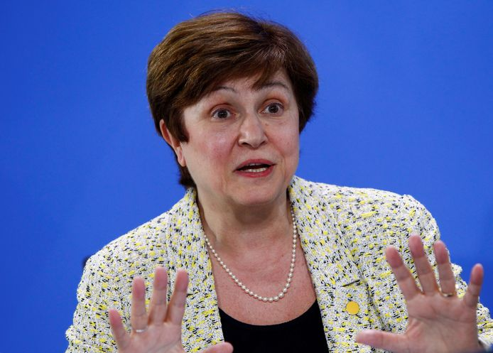 De Bulgaarse Kristalina Georgieva is de enig overgebleven uitdager van Dijsselbloem.