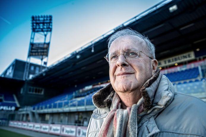 PEC Zwolle-voorzitter Adriaan Visser: ,,Zolang er geen vaccin is, zal geen stadion in Nederland vol zitten.''