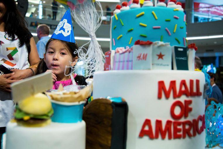 De Mall of America pakte groots uit Beeld ap