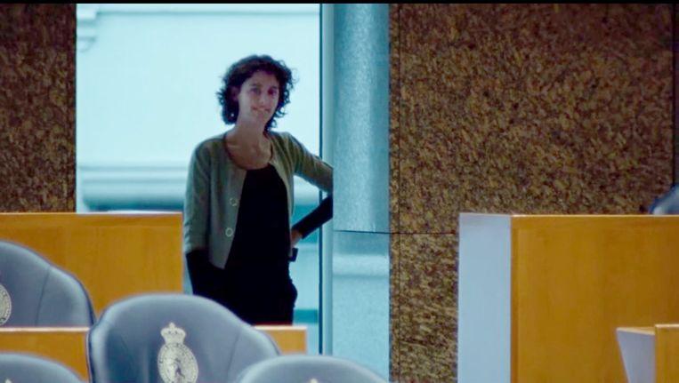Beelden uit de VVD-verkiezingsfilm 'To do' van maart dit jaar, waarin Sophie Hermans al aan de zijde van Mark Rutte te zien is. Beeld VVD