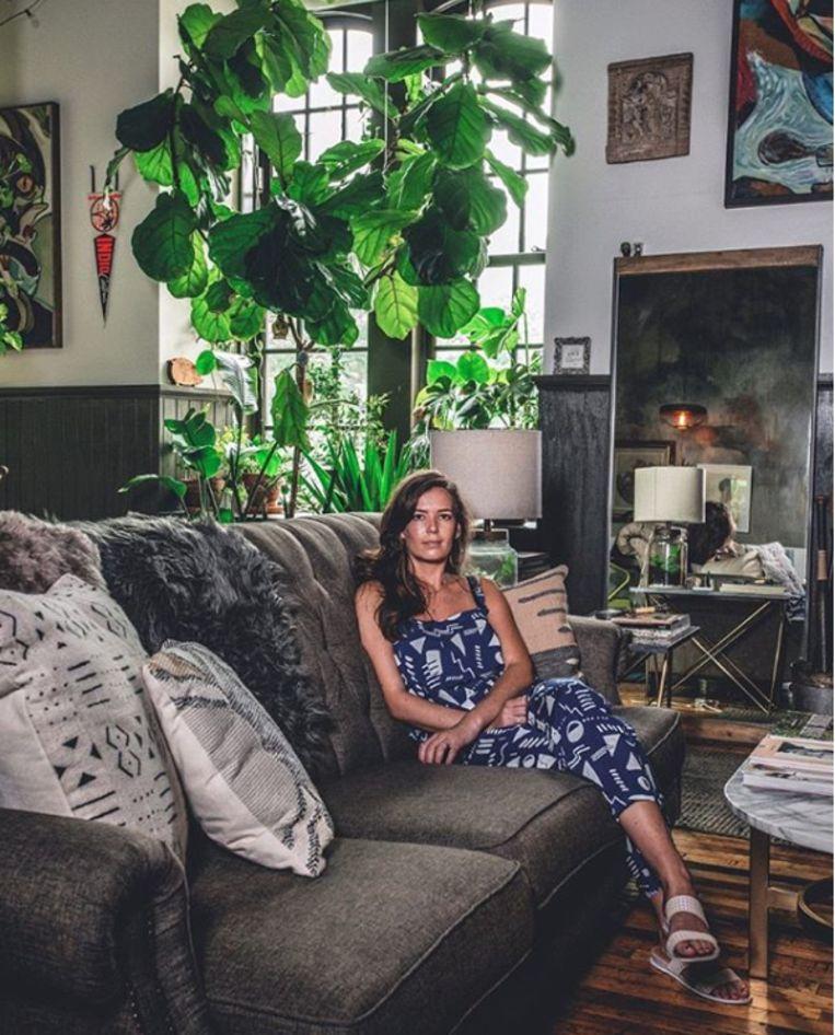 De vrouw van Carter duikt vaak op in zijn foto's. Beeld Instagram Hilton Carter