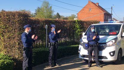 Politie applaudisseert voor bewoners en personeel van de rusthuizen en serviceflats