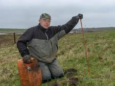 Elke mol eindigt bij mollenvanger Aart Knoppert onder de grond: ,,Ik begraaf ze netjes''