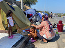 Farzane Soltana wil van Lesbos af: ,,Moria was niet goed, dat nieuwe kamp is ook niet goed.''